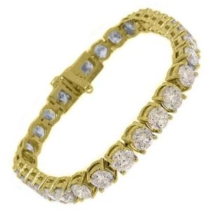 pulseras de oro con diamantes