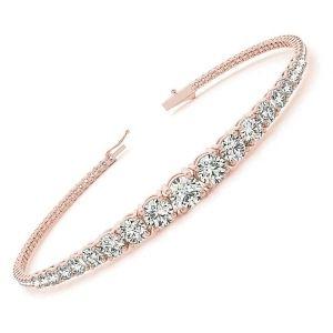 pulseras de oro rosa