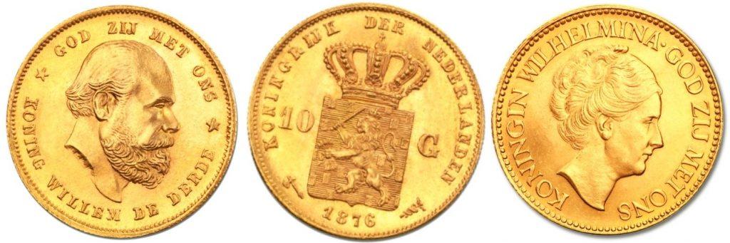 historia de las monedas de oro florin holandes