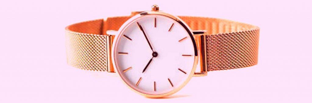ventajas de los relojes de oro rosa