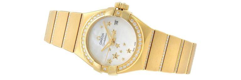 reloj omega de oro amarillo para mujer