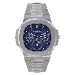 reloj patek philippe nautilus 5740/1G-001, de oro blanco de 18 k, para hombre