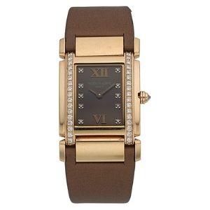 reloj patek philippe twenty-4 4920R-010, de oro rosa de 18 k con diamantes, para mujer