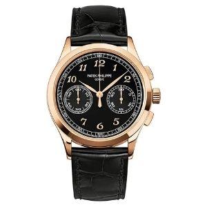 reloj patek philippe complications 5170R/010, de oro rosa de 18 k con correa de piel, para hombre y mujer, unisex