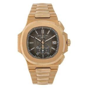 reloj patek philippe nautilus 5980/1R-001, de oro rosa de 18 k, para hombre