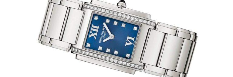 reloj patek philippe de oro blanco para mujer