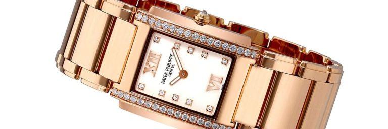 reloj patek philippe de oro rosa para mujer