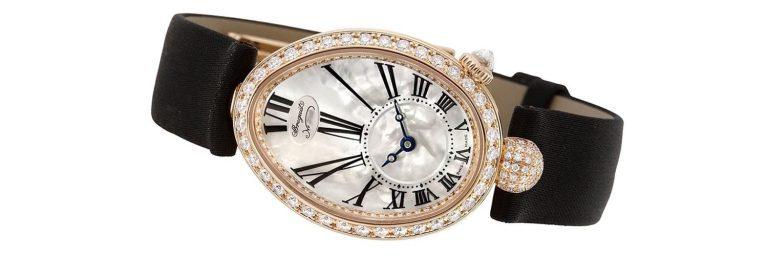 relojes breguet reine de naples de oro rosa para mujer