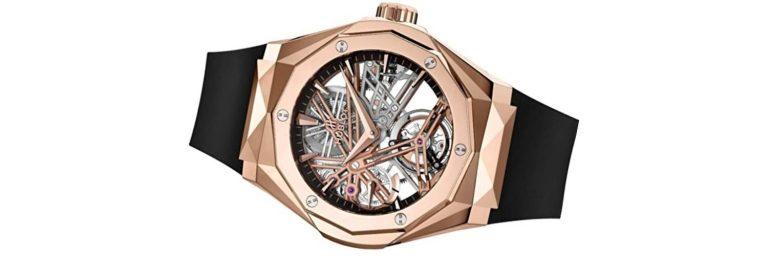 reloj hublot classic fusion de oro pra hombre