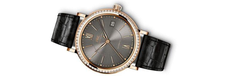 relojes iwc de oro con diamantes para hombre