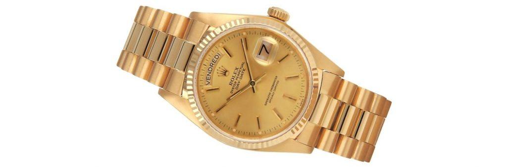 Relojes rolex day-date 18038 de oro amarillo de 18k para hombre
